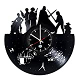 STAR WARS Movie Characters Design handmade vinyl record wall clock – Best gift For Sale