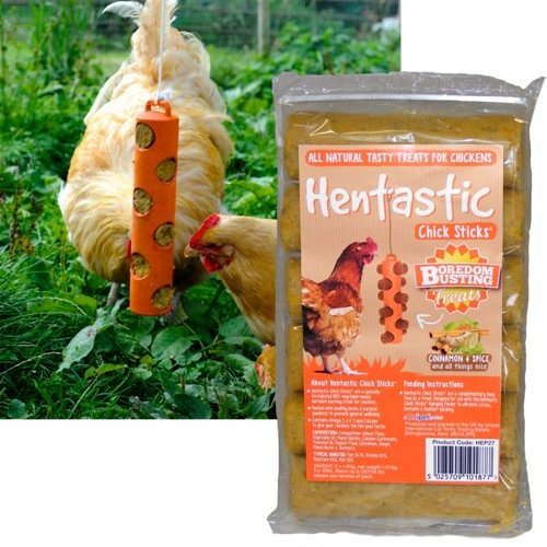 Hentastic Chick Stick Cinnamon & Spice - Pack of 6 - An All Natural Tasty Treat for Chickens Unipet HEP27