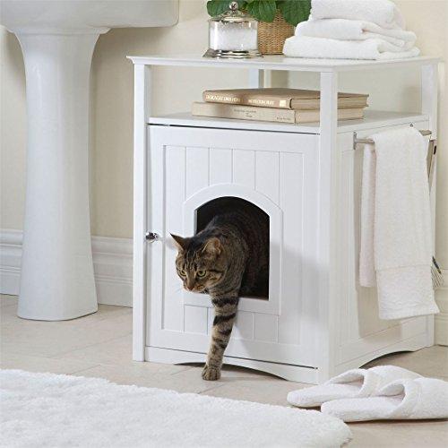 Brylanehome Kitty Washroom (White,0) by BrylaneHome