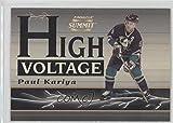 Paul Kariya #264/600 (Hockey Card) 1996-97 Pinnacle Summit - High Voltage - Mirage #3