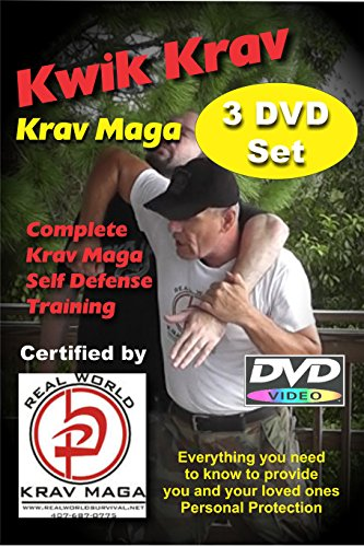 Krav Maga 3 DVD Set for those that have no time to waste. (Beginner/Advanced) (Krav Maga Best Self Defense)
