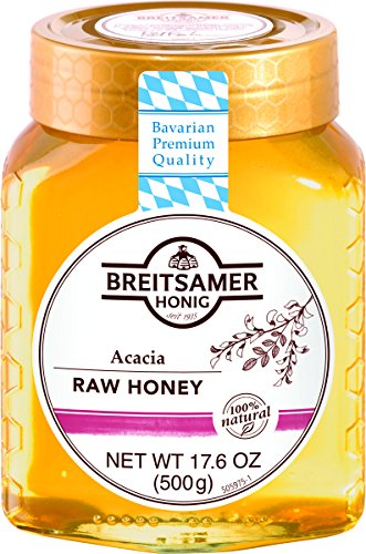 Breitsamer, Acacia Raw Honey, 17.6 oz