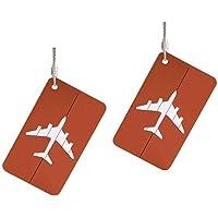 Xpassion Etiquetas del equipaje del viaje de aleación