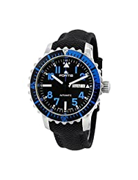 Fortis Marinemaster Automatic Black Dial Mens Watch 6701545LP