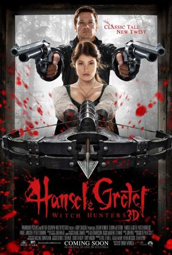 Hansel & Gretel: Witch Hunters Poster 2013
