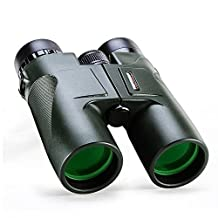 USCAMEL® Military HD 10x42 Binoculars Professional Hunting Telescope Compact Waterproof Army Green