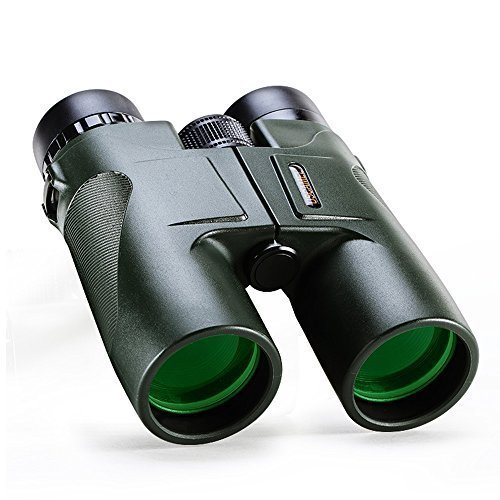 USCAMEL Binoculars Compact for Bird Watching, 10x42 Military HD Professional Hunting Telescope - Army - Reviews Lens Eyeglass