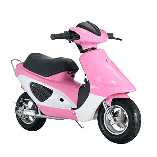 Motorcycle Scooter Electric Bike 350W 36V, Pink