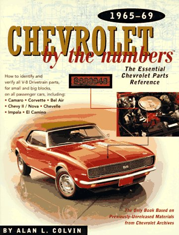 Chevrolet By the Numbers 1965-69: How to Identify and Verify All V-8 Drivetrain Parts For Small and Big Blocks from Brand: Robert Bentley, Inc