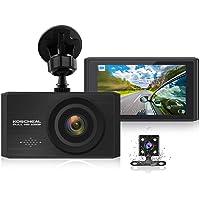"""KOSCHEAL Dash Cam 1080P Full HD, Cámara de Coche 3"""" Pantalla con 170° Gran Ángulo, WDR, G-Sensor, Grabación en Bucle…"""