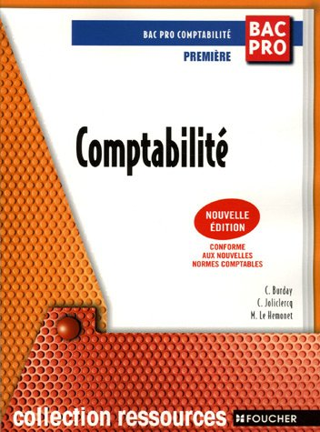 Comptabilité 1e Bac Pro
