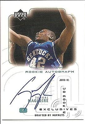 Jamaal Magloire Kentucky Wildcats 2005-06 Upper Deck Autograph Rookie Basketball Card #JA