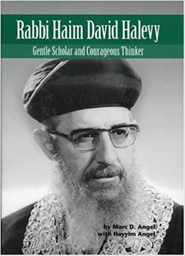 Book RABBI HAIM DAVID HALEVY (Modern Jewish Lives Volume 2)