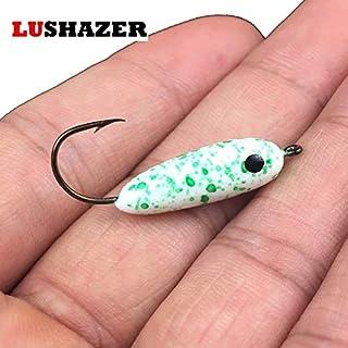 CUSHY 2.7cm 3.2cm Accessoires Poissons de pêche à la Carpe de tête de gabarit de pêche wobbler de pêche LUSHAZER Anzol Mustad Plaquage: Noir S
