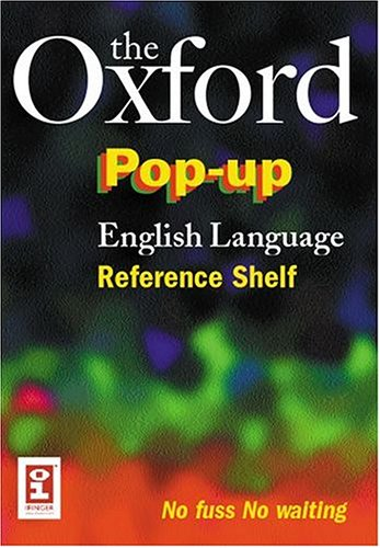 Buy The Oxford Pop-up English Language Reference Shelf (Dictionary