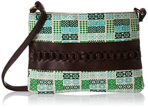 Kanvas Katha Women's Sling Bag (KKWVR003_Multi-Colour)