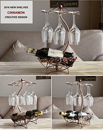 Olayer Wine Rack Home Decoration Modern Living Room Wine Cabinet Wedding Decor Gift Wine Glass Holder