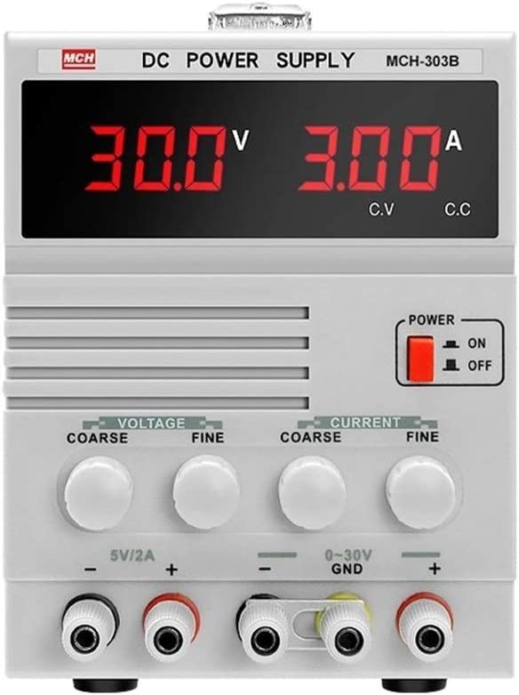 Size : 220V EODUDO-Tester MCH-303B Adjustable 30V3A DC Power Mobile Digital Display Phone Notebook Repair Linear Power Supply,Precision Measurement