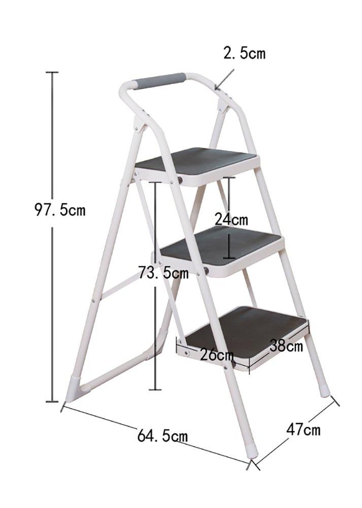 ステップスツール ブラック/ホワイトステップスツール大人と子供ラダートレーニング折りたたみ椅子、ノンスリップシューズポータブル脚立/足置き/収納ラック/フラワースタンド (色 : A, サイズ さいず : 4 tiers) B07H5KWT6V A 4 tiers
