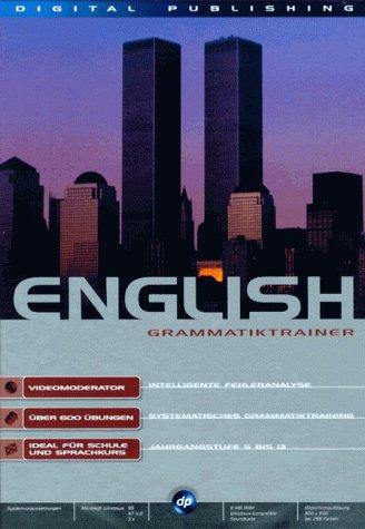Grammatiktrainer English. CD- ROM für Windows 3.x/95/NT 4.0