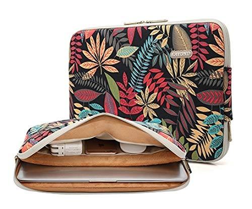 - Pechalar - Laptop Sleeve Case Canvas Computer Bag Notebook Mouse Power Pocket 11 13 14 15 inch