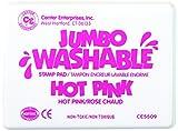 Center Enterprise CE5509 Jumbo Washable Stamp Pad, Hot Pink