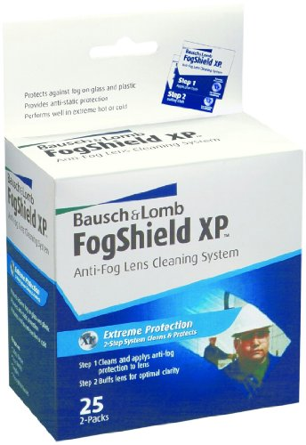 Bausch & Lomb Fogshield Xp Pre-Moistened Lens Cleaning Tissues