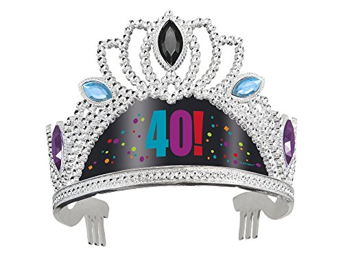 Birthday Cheer 40th Birthday Tiara
