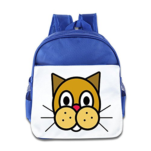 NATY Drawings Of Animals Faces Unisex School Backpacks With RoyalBlue For (Philadelphia Phillies Youth Backpack)