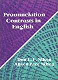 Pronunciation Contrasts in English 9781577662372