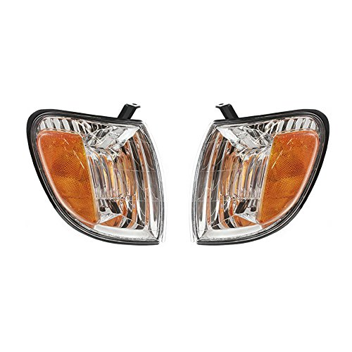 NEW PAIR OF TURN SIGNAL LIGHTS FITS TOYOTA TUNDRA 2000-04 TO2531135 815100C010 81510-0C010 81520-0C010 815200C010 -