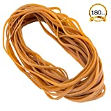 ANPHSIN 180 Pieces Super Size Rubber Bands- Large Heavy Duty Latex Rubber Bands for Garbage can and Moving