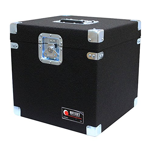 Odyssey CLP100P Carpeted Pro Lp Case With Recessed Hardware For 100 Vinyl Lp's by ODYSSEY