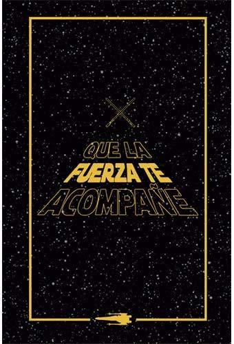 Star Wars - Que la Fuerza te acompane (Noteb
