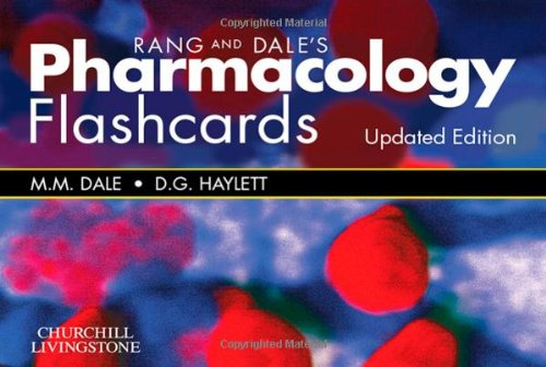 Rang & Dale's Pharmacology Flash Cards Updated Edition, 1e
