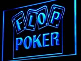 Flop Poker Game Casino LED Sign Night Light i943-b(c)
