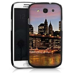 Carcasa Design Funda para Samsung Galaxy S3 i9300 / LTE i9305 HardCase black - New York Night
