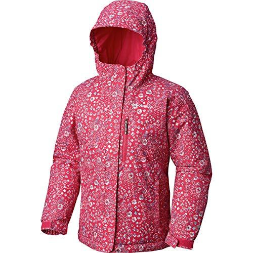 Columbia Kids Girl's Magic Mile Jacket (Little Kids/Big Kids) Cactus Pink Floral Print/Cactus Print Medium