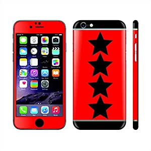 Iphone 6s Plus Red And Black Stars