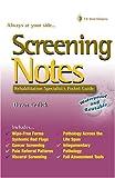Screening Notes: Rehabilitation Specialist's Pocket Guide (Davis Notes)