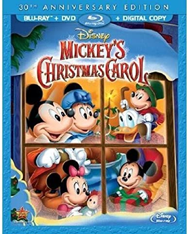 amazoncom mickeys christmas carol 30th anniversary edition blu raydvd digital copy alan young wayne allwine hal smith burny mattinson movies - Mickeys Christmas Carol Blu Ray