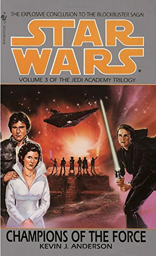 book cover of Champions of the Force