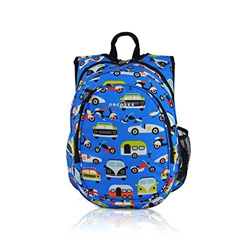 Obersee Kids Pre-School All-in-One Backpack with Cooler, Transportation by Obersee