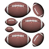 Peel and Stick Football Stickers Decals Removable Football Wall Art Item #2