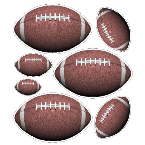 peel-and-stick-football-stickers-decals-removable-football-wall-art-item-2