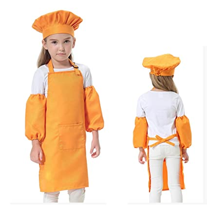 wholesale outlet best sneakers size 40 Amazon.com: CRIZAN Kids Child's Chef Hat Apron Set For Girl ...