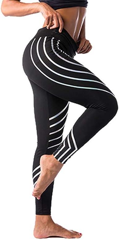 WZ Pantalones Yoga Mujeres Mallas Deportivas Mujer Punto De Ola ...