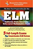 ELM (REA) - The Best Test Prep for the Entry Level Mathematics Exam, Archibald Sia and Hugo Sun, 0738600164