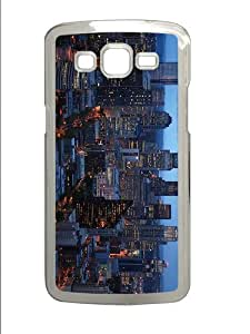 cases customizable washington evening PC Transparent case/cover for Samsung Galaxy Grand 2/7106