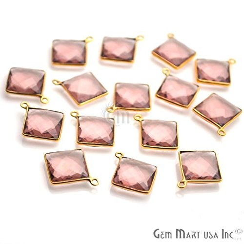Review Morganite Connector, 12mm Square